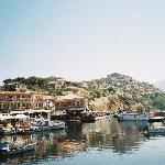 Molivos Harbor with Sea Horse Hotel - Balconies