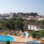 Colina Dos Mouros Hotel and view behind