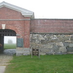 Fort Constitution entrance