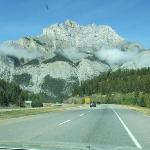 Canmore to Banff main highway