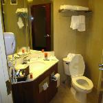 Bathroom.  Shower is to the right