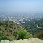View from the top of Runyon Canyon
