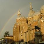  Rainbow over the Basilica of St. Anthony