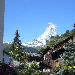  The Matterhorn the morning after we arrived. Beautiful!!
