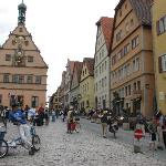 Town square in Rothenburg