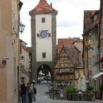 Side street in Rothenburg