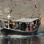 We went to the Musandam to see the fjords and the mountains