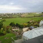 A view from the room to Newquay