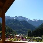  Balcony View to Dolomites