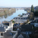 le Choiseul from Amboise Chateau grounds