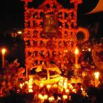 Graveside on Day of the Dead