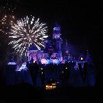 Awesome Fireworks...Sit right in front of the Castle for the best view!!!