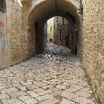 Lovely cobbled alley