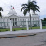 the Presidents Palace- Delmas