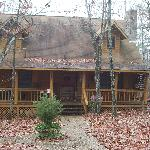 Cabin we stayed at