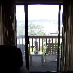 LOOKING OUT TWORDS BALCONY