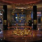 Hotel lobby-xmas decorations