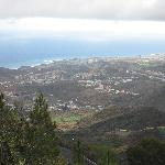 View out to Las Palmas