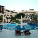View of pool and hotel complex
