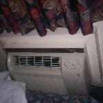 The AC unit was nice and did not make a racket.