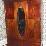 The Armoire in the Master's Suite