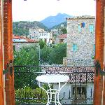 Balcony view over Old Kardimyli