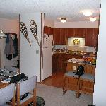  kitchen of 1 BR Woods Manor condo
