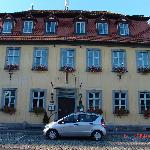 Entance to Hotel Country Inn outside of Bamberg