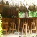 poolside palapa bar