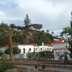 The botanical garden, the lovely restaurant on top of the hill  of Playa del Ingles.