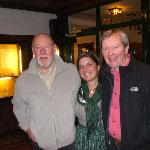 Mel & Richard with the owner Margot