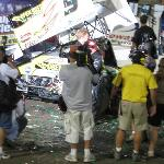 Victory Lane, you can get really close to the action at I-55 Raceway