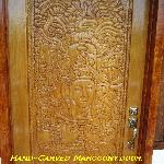 Mahogany Door. Casablanca By The Sea Hotel. Belize.
