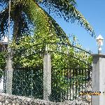 Gate. Casablanca By The Sea Hotel. Belize.