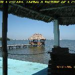 Palapa. Casablanca By The Sea Hotel, Belize.
