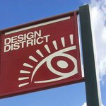 'The Miami Design District' is just north of 'The Wynwood Art District' in Miami, Florida