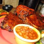 ribs and bbq chicken