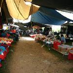  1001 Meter Market at Chiang Dao