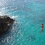 Cliff jumping in Negril if you choose