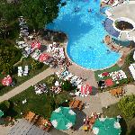 The pool of Hotel Sokol