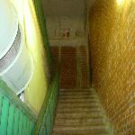  The stairs to the entrance...