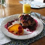  The amazing Blueberry French Toast
