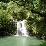 waterall on Road to Hana