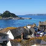 View over Marazion to the Mount