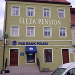  The Hotel Sleza Pension incorporates a bank