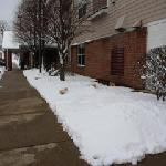 cleared sidewalks after winter storm