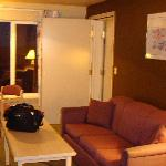  couch area (not in other adjoining room)