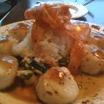  Orange and Ginger Scallops or something.