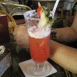 Overpriced Singapore Sling at the Long Bar-Raffles Hotel...$20