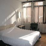 Our room in venice, bed not made well, sorry!